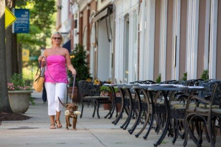 The towns in Talbot County, Maryland, welcome dog lovers.