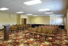 Comfort Inn conference area.