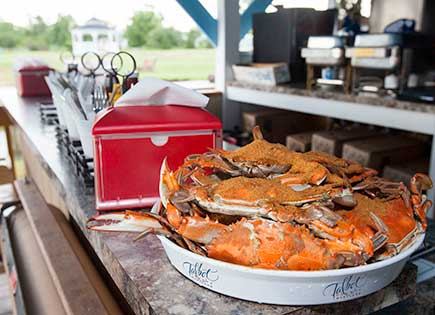 Nothing says Talbot County like a crab feast.