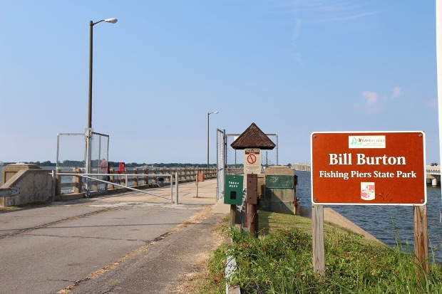 bill burton fishing pier state park talbot county maryland