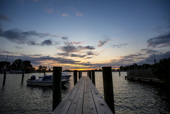 Talbot County, Maryland, Oxford, early morning, harbor, river, crabbing