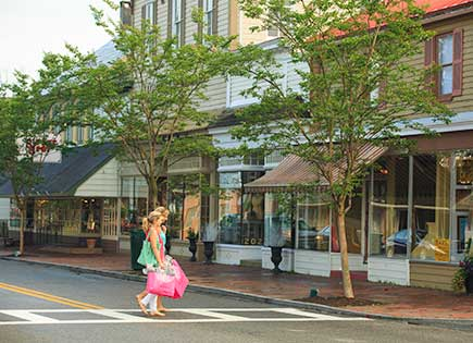 Shopping in St. Michaels, Talbot County, Maryland