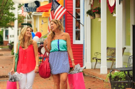 St. Michaels, Maryland, is a Mecca for shoppers.