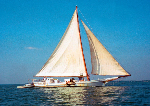 Skipjack Rebecca T Ruark Talbot County Maryland