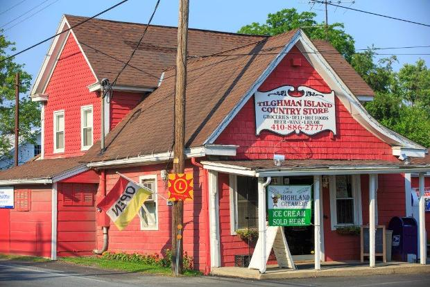 The Tilghman Island Country Store Talbot County Maryland