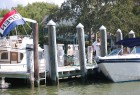 The Boatyard during Labor Day.