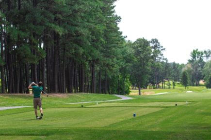 Golfing in Easton, Maryland
