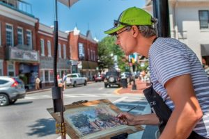 Artist in Easton, Maryland.