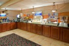 Holiday Inn Breakfast Bar.