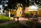 Robert Morris Inn patio area.