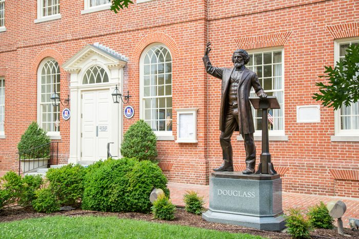 Talbot County Courthouse in Easton, Maryland