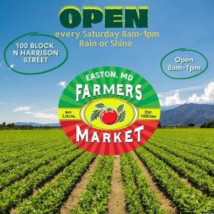 Easton, Maryland Farmers Market